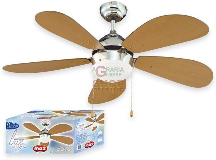 MAX VENTILATORE SOFFITTO,5 PALE, DIA 106CM https://www.chiaradecaria.it/it/max/12508-max-ventilatore-soffitto5-pale-dia-106cm-8017365020019.html