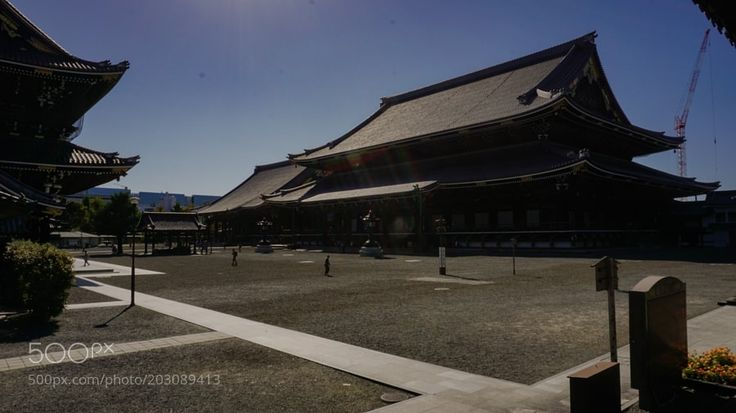 Nishi honganji(西本願寺) by tjqhgur1818 from http://500px.com/photo/203089413 - . More on dokonow.com.