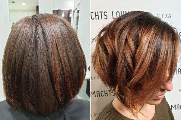 Haarschnitte Trends 2020 Haarfarben Frisurentrends Frisuren Trend
