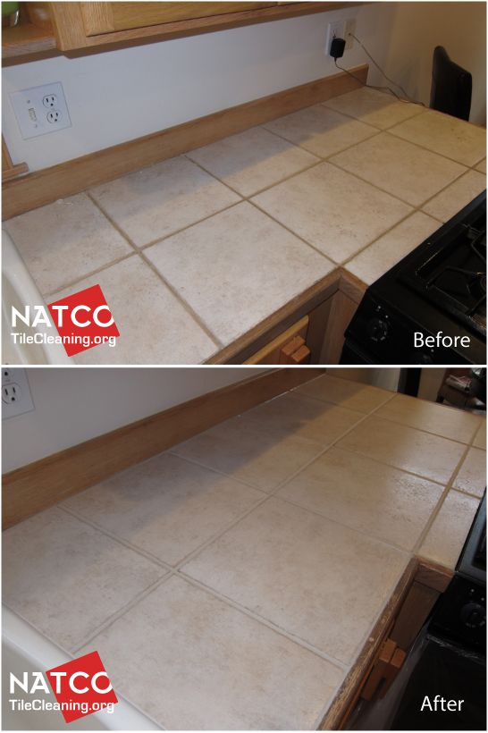 how to restore a tile countertop using custom bone