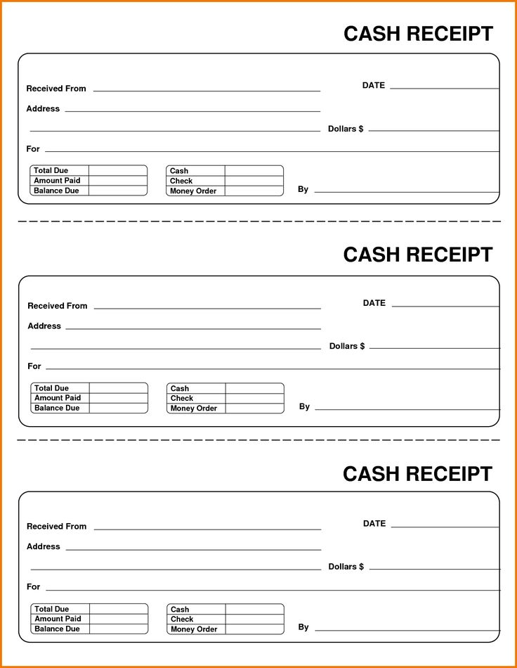 22 best Business memo Template images on Pinterest Business memo - cash receipt template