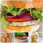Recetas de pescado: hamburguesas de pescado