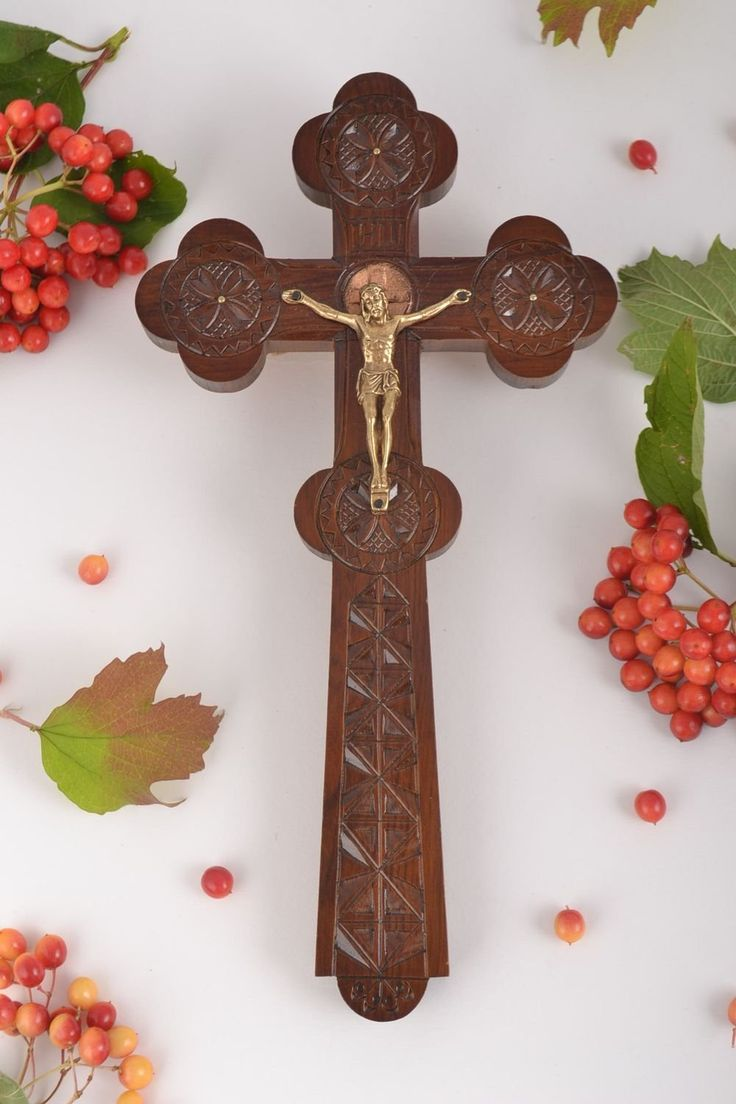 Handmade Wall Cross Wood Cross Religious Accessories Church Supplies Home Decor ** Discover this special product, click the image : Wall Crosses