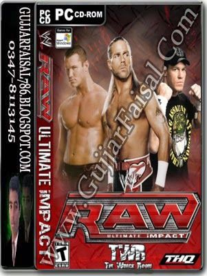 RAW Ultimate Impact Game Free Download Full Version  #Action  #Compressed_Games  #Fighting  #games  #Wrestling_game  #wwe_game