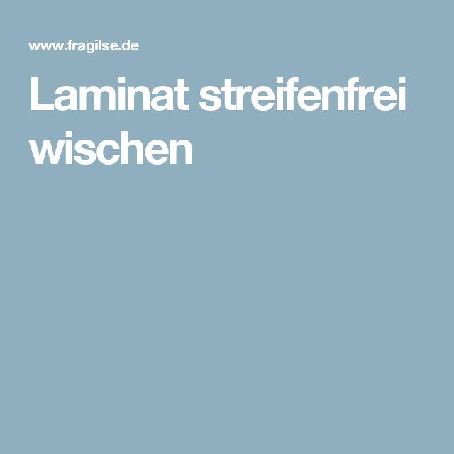 Laminat wischen