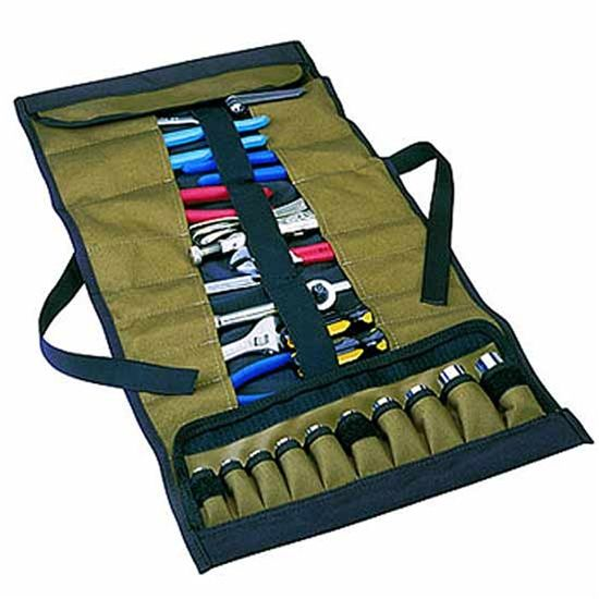 32 Pocket Roll Up Tool Pouch Clc1173 Tool Pouch