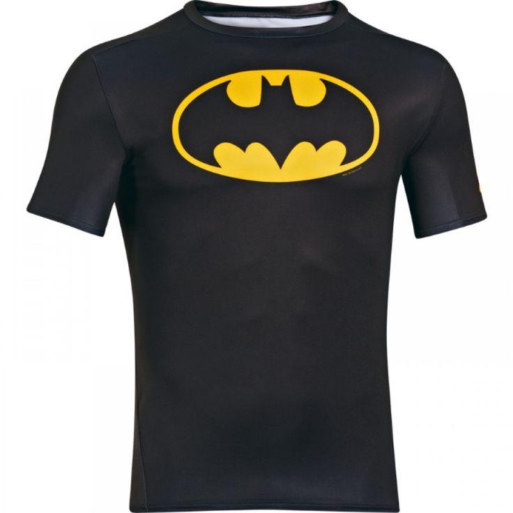 Chlapecké kompresní tričko Under Armour Alter Ego Batman