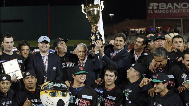 Producto:La Serie del Caribe es uno de los torneos de béisbol de primera clase en el mundo. México fue el lugar de nacimiento del béisbol, y el equipo nacional ganó el campeonato anoche en un partido entrada 18.