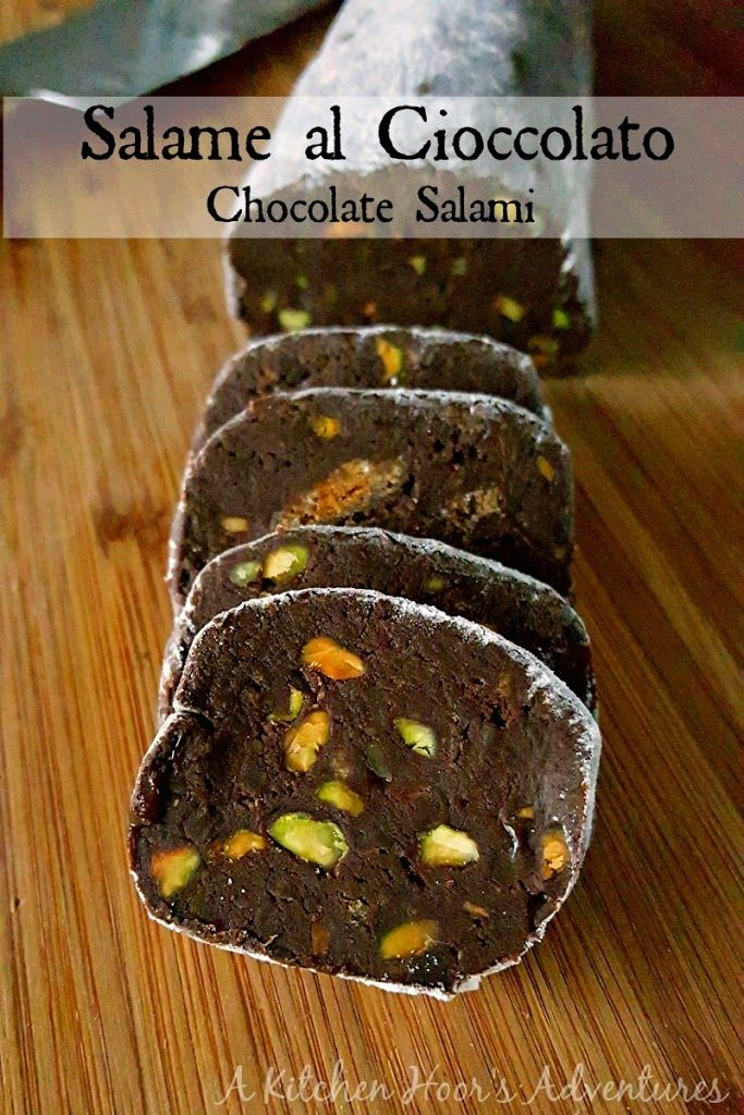 Salame al Cioccolato (Chocolate Salami) Recipe on Yummly. @yummly #recipe