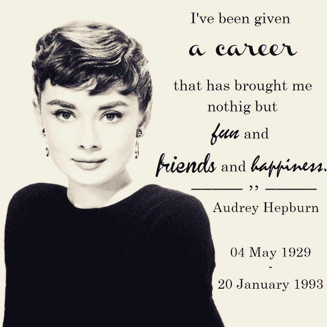 Audrey Hepburn Audreyhepburn Beautiful Black And White