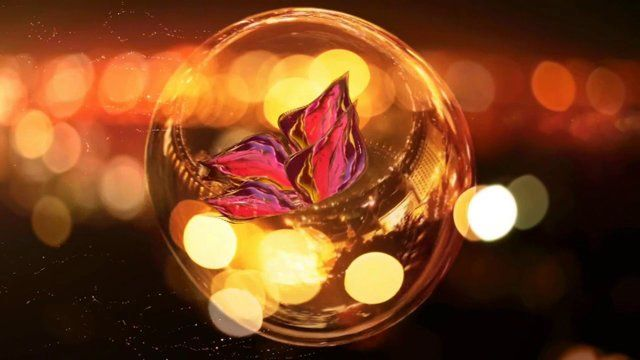 Light and delicate as a butterfly; the movie scene is about everyday life)