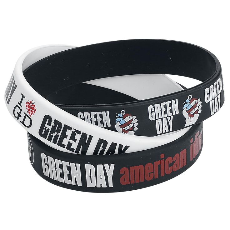 "Set di bracciali ""American Idiot"" dei #GreenDay."