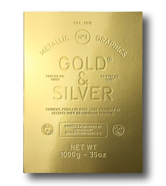 Gold & Silver - design inspiration from various design fields.