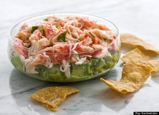 11 Super Bowl dip recipes! Via HuffPost Kitchen Daily @Kitchen Daily http://huff.to/xFeufM: Tortillas Chips, Bowls Parties, Yummy Food, Crabs Avocado, Avacado Dips, Avocado Dips, Dips Recipes, Crispy Tortillas, Crabs Dips