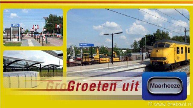 Maarheeze postcard