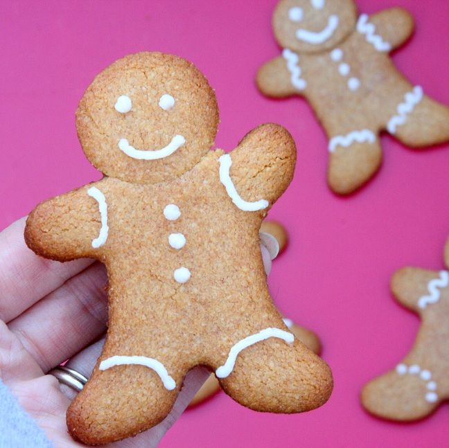 SCD Gingerbread Cookies w/ 'Royal Icing': Cookies Raw, Desserts Recip...