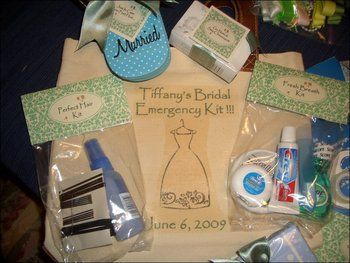 Notfall Tasche; Dankeschön für Helfer und oder Trauzeugin