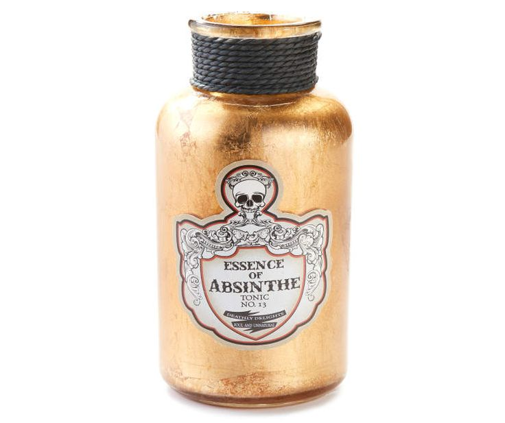 buy a gold vintage glass potion bottle at big lots for less shop big lots halloween in our department for our complete selection - Big Lots Halloween Decorations