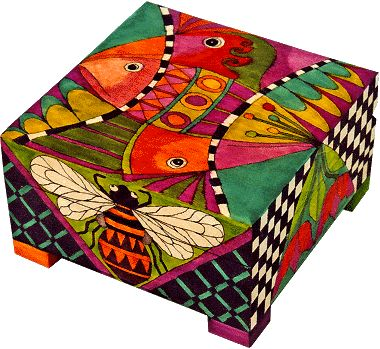 Painted box -Helen Heins Peterson