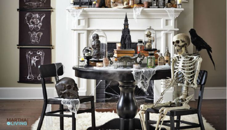 How to Prepare Your Dining Chairs For Halloween According to Pinterest