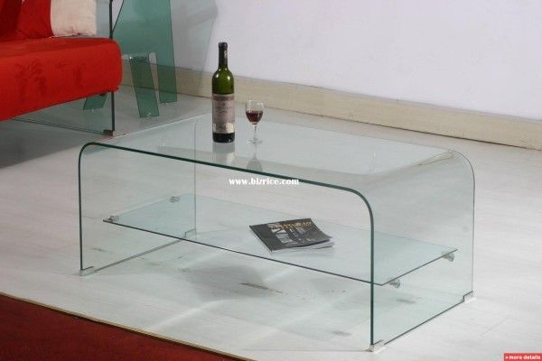 Modern Glass Table Furniture from Modern Living Room Ideas 600x400 Modern Living Room Ideas