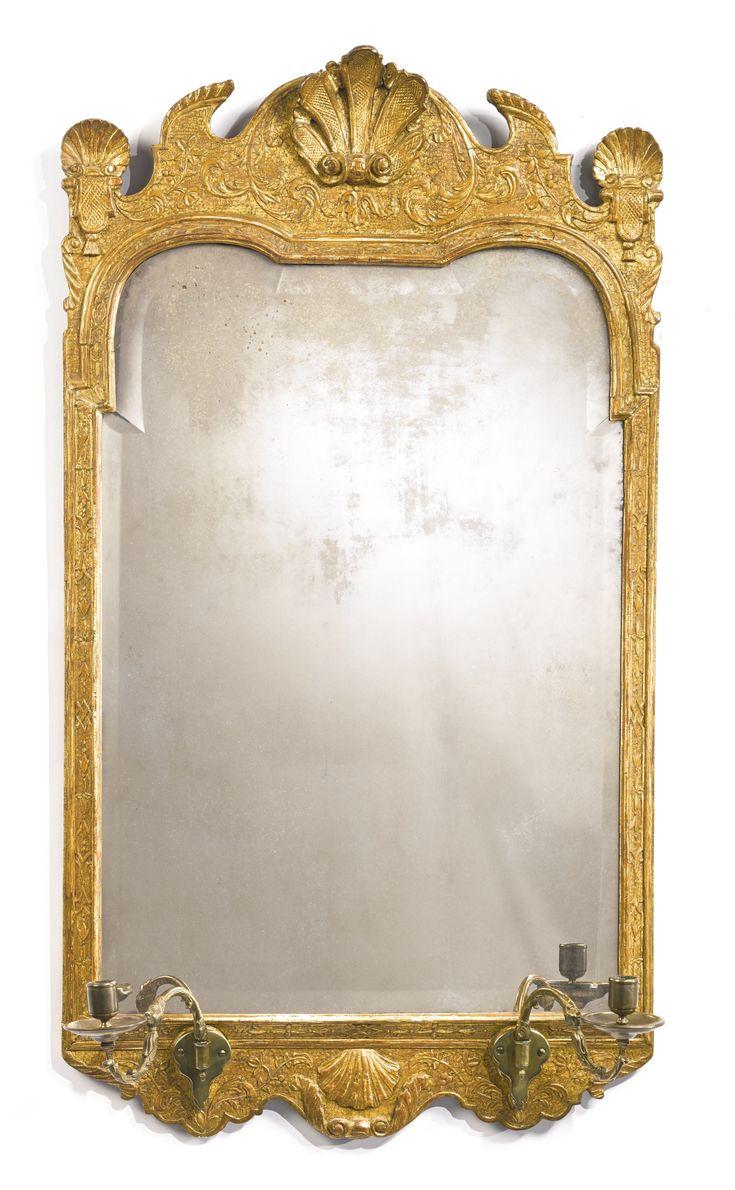 18 best antique mirrors images on pinterest antique mirrors a george i gilt gesso girandole mirror circa 1725 lot sothebys antique picture frameschandelier arubaitofo Choice Image