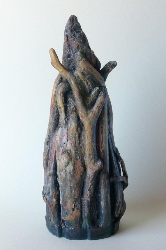 Fairytale Tower Found objects driftwood by SergioArteStudio