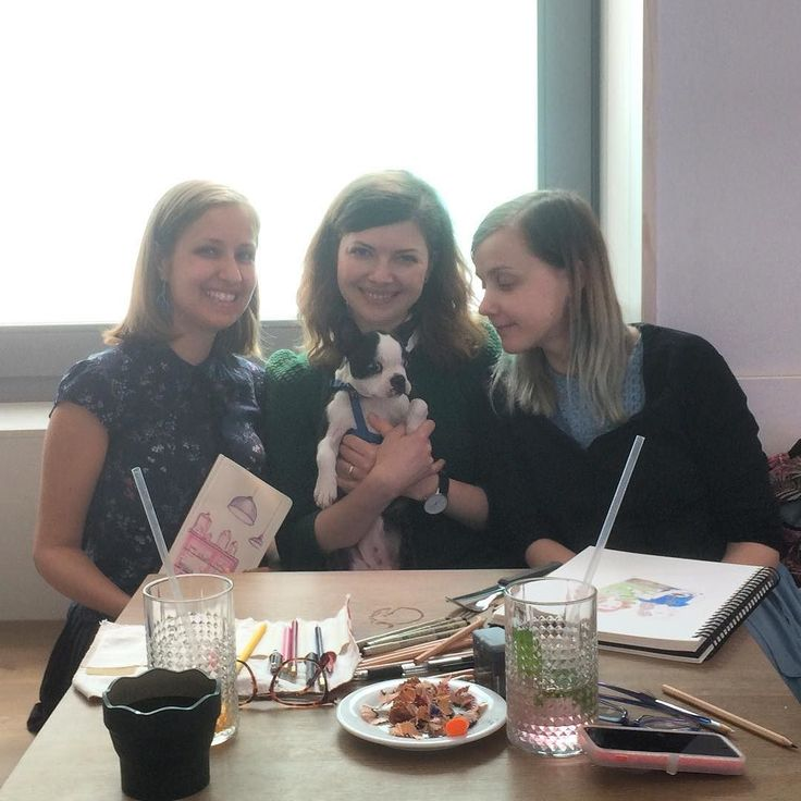 Creative Breakfast-4 today was cozy and fun:) with  Polina @polinarias  and Svetlana. Next one is in June.