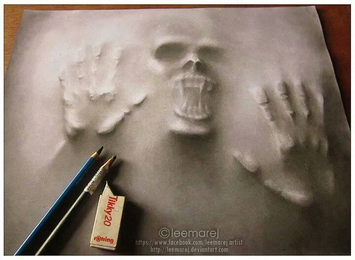 cool 3d pencil art | Art | Pinterest | Art, Pencil art and 3d