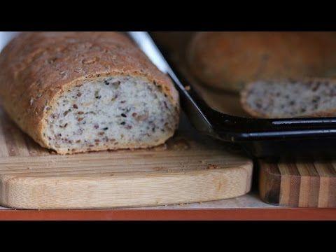Chleb z ziarnem najsmaczniejszy jak łatwo zrobić - YouTube