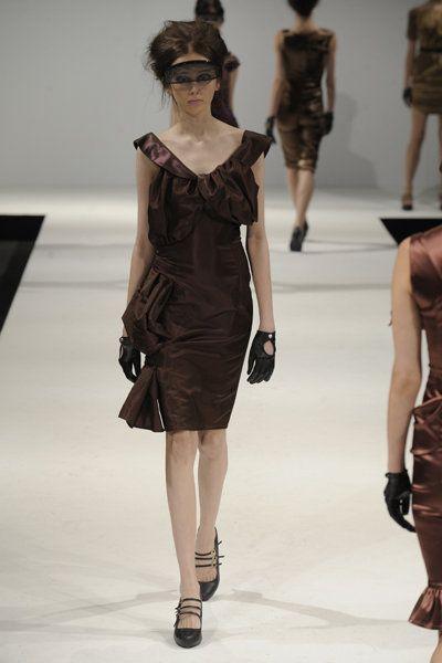 """50's style Ruffled Dress """" Anita"""" www.lineadiluna.com"""