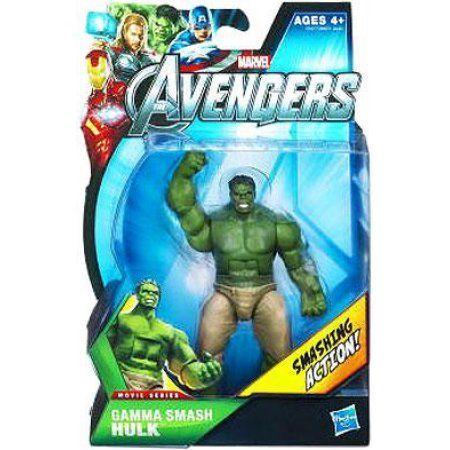 Marvel Movie Series Gamma Smash Hulk Action Figure, Multicolor