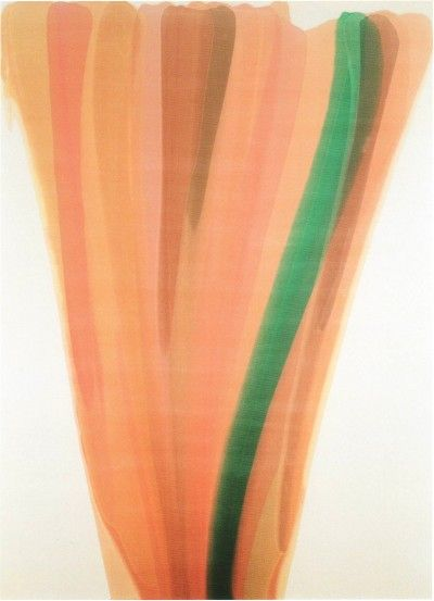 Morris Louis (1912 – 1962). 1959 Beth Chaf magna acrylic on canvas