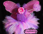 Purple, Pink, & Lavender Fairy Tutu Dress - newborn tutu, infant tutu, baby tutu, toddler tutu, dress up tutu, princess tutu, fairy tutu
