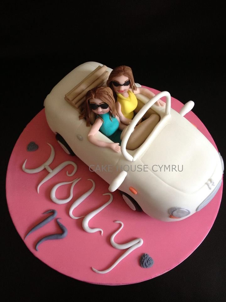 #17th Birthday Cake - #Car Cake