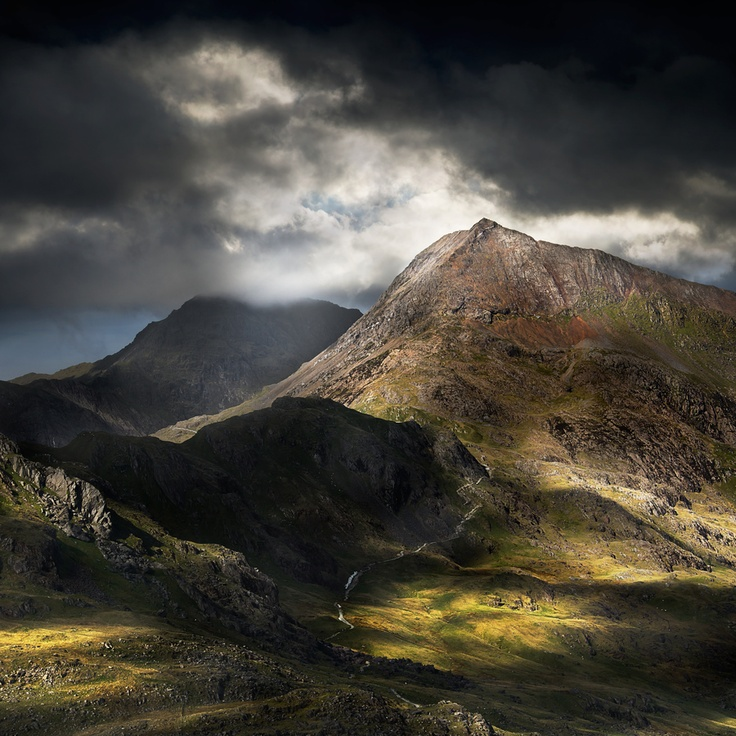 Stunning capture of Crib Goch in Snowdonia National Park, Wales, near Beddgelert and Llanberis if you are thinking of visiting.