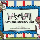 My baseball theme unit includes 105 pages of grand slam activities centered on different math and literacy activities.  This unit includes: A baseb...