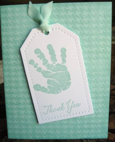 Cute Baby Thank You Card