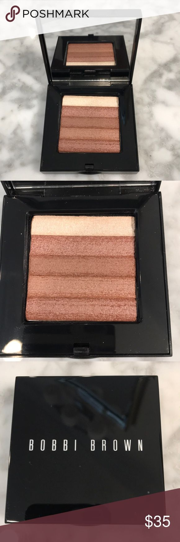 Brand new Bobbi Brown Tawny Shimmer Brick Compact! Brand new Bobbi Brown Tawny Shimmer Brick Compact! Never even been tested! I took out of the package to keep for my personal use but dont wear much bronzer. This was purchased about a month ago. This shade is Bobbi favorite! Comes from a clean non smoking no pet but kid friendly home!  Bobbi Brown Makeup Bronzer