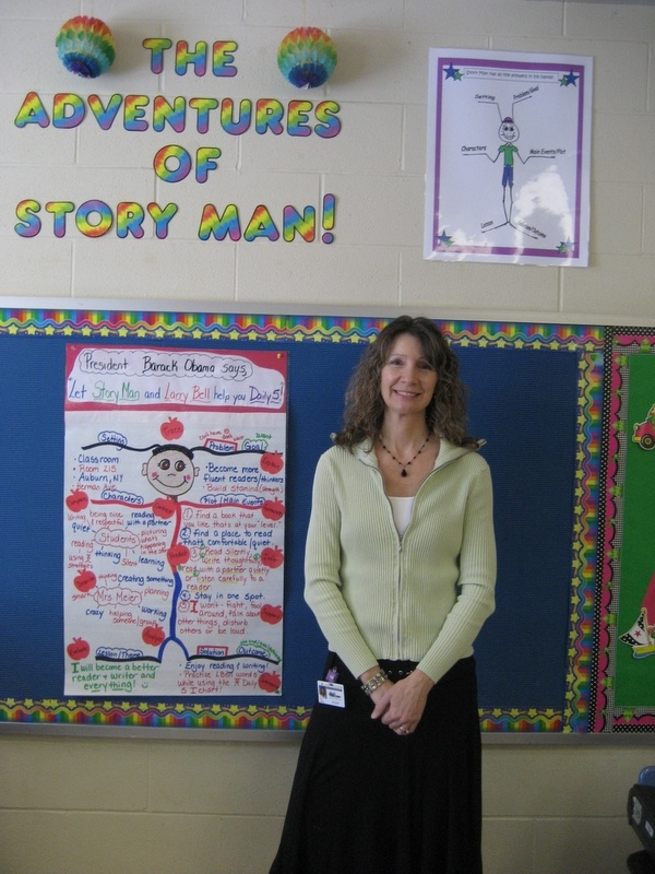 Story Man is a fun and engaging graphic organizer/visual scaffolding tool designed to help children close read stories and build reading comprehension. A creative teacher could integrate up to 29 Common Core Standards into a Story Man lesson!