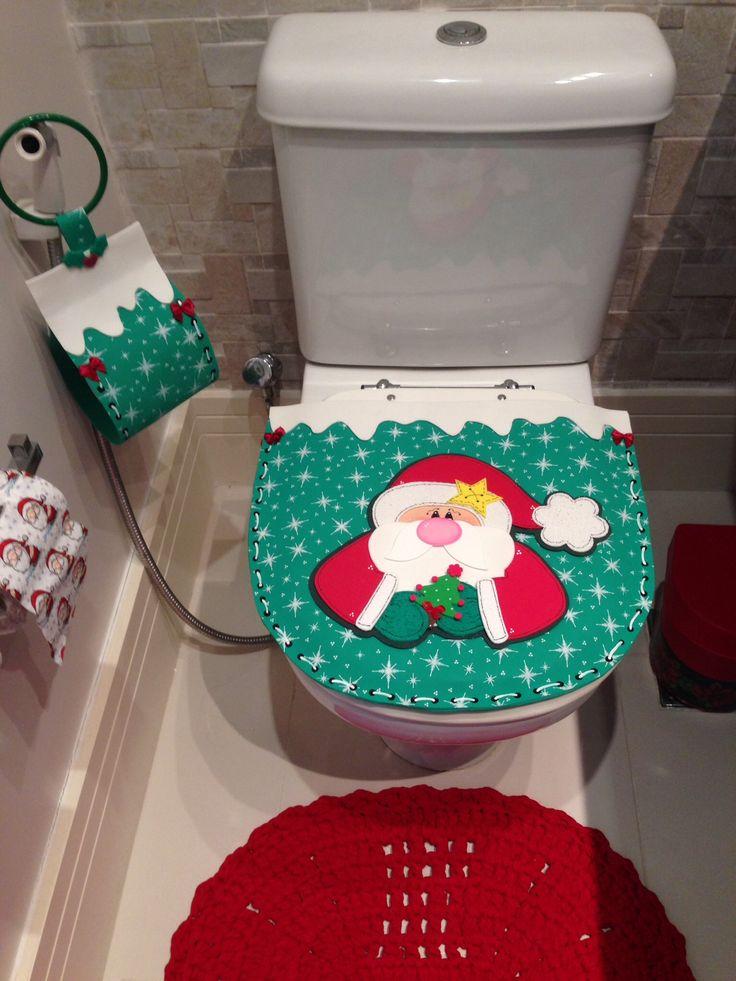 Decoração de Natal - lavabo