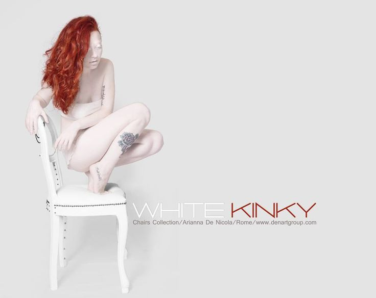 Art for home - white kinky - chairs collection -
