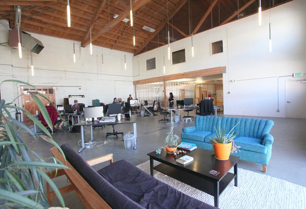 This is a great space and won't last long. Funky warehouse style, open layout with tech creatives make this perfect for a young growing startup, $250