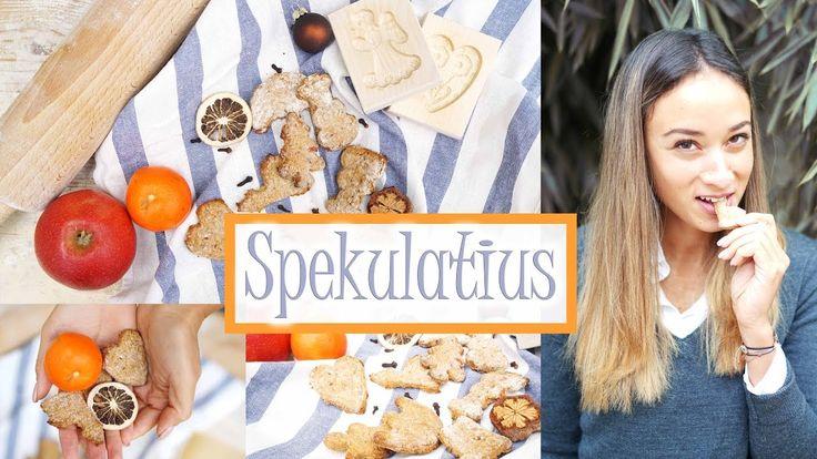 Spekulatius selber machen - gesundes Rezept - Kekse backen - Wenig Kalorien