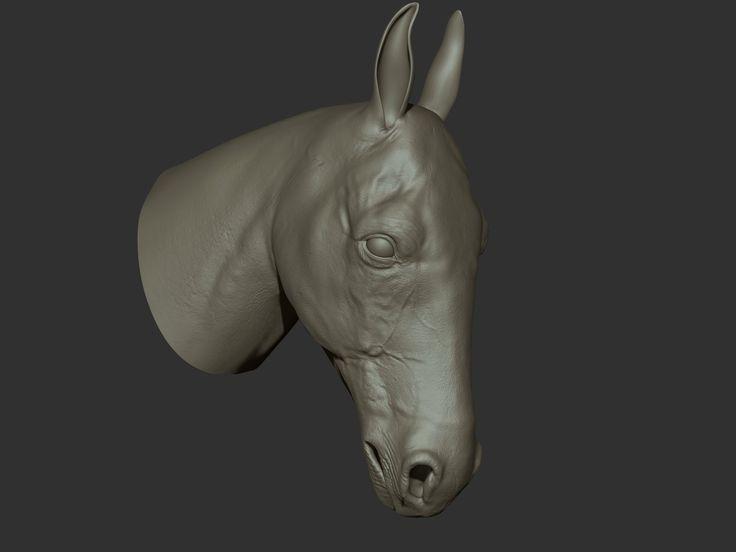 horse, Ganesh Poojari on ArtStation at http://www.artstation.com/artwork/horse-fb1bb12b-f369-4718-a21b-006ba46e9fef