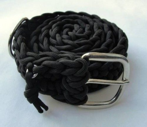Paracord Is Survival Cord Disguised As Belt   OhGizmo!