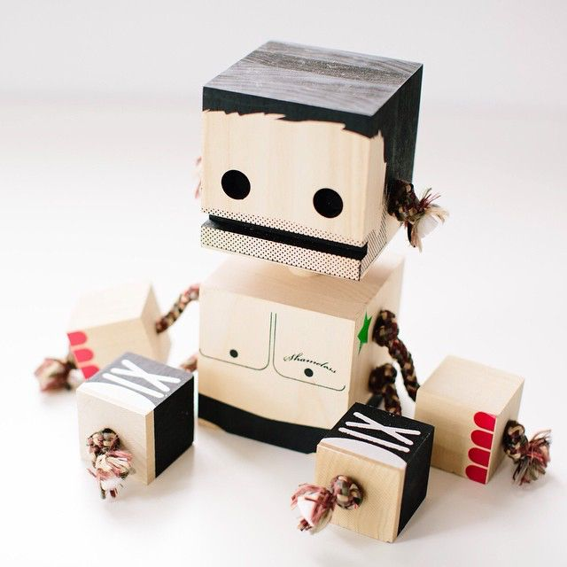 Block Bot | Toys and Games | Pinterest | Toy, Wood toys and Wooden toys