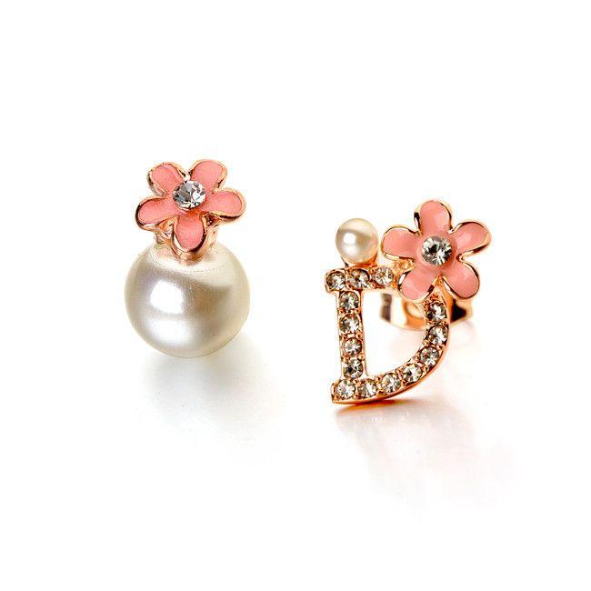 2015 модные ручной перл серьги с с бантом дизайн ювелирных изделий диссимметрия серьга стад оптовая продажа ювелирных камней