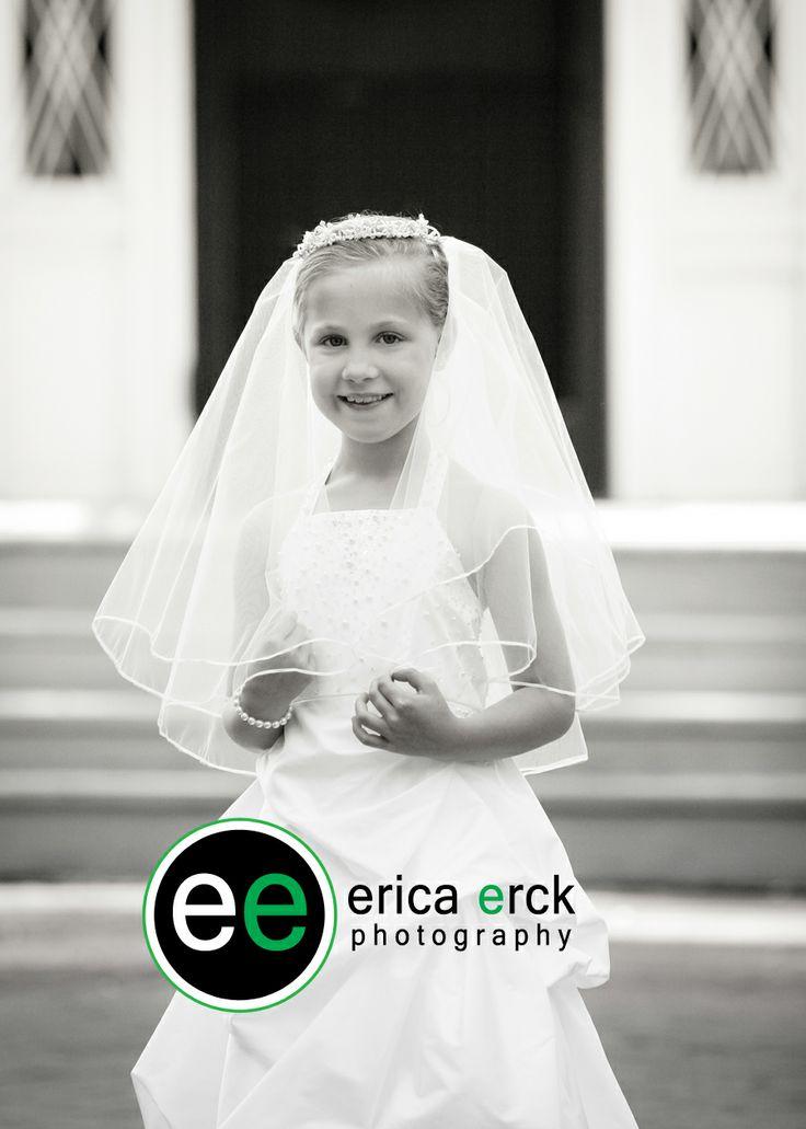 #ericaerckphotography  First Communion Photography