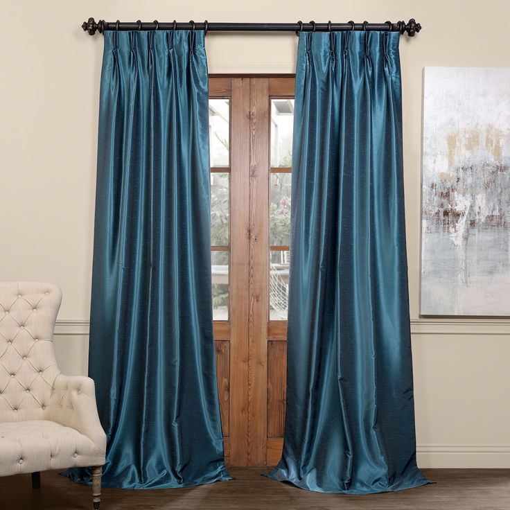 17 Best Ideas About Silk Curtains On Pinterest Drapery